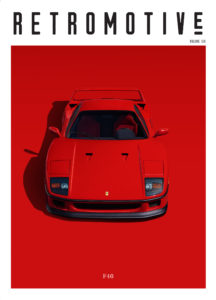 Retromotive magazine cover volume 6