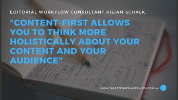 Editorial Workflow Kilian Schalk