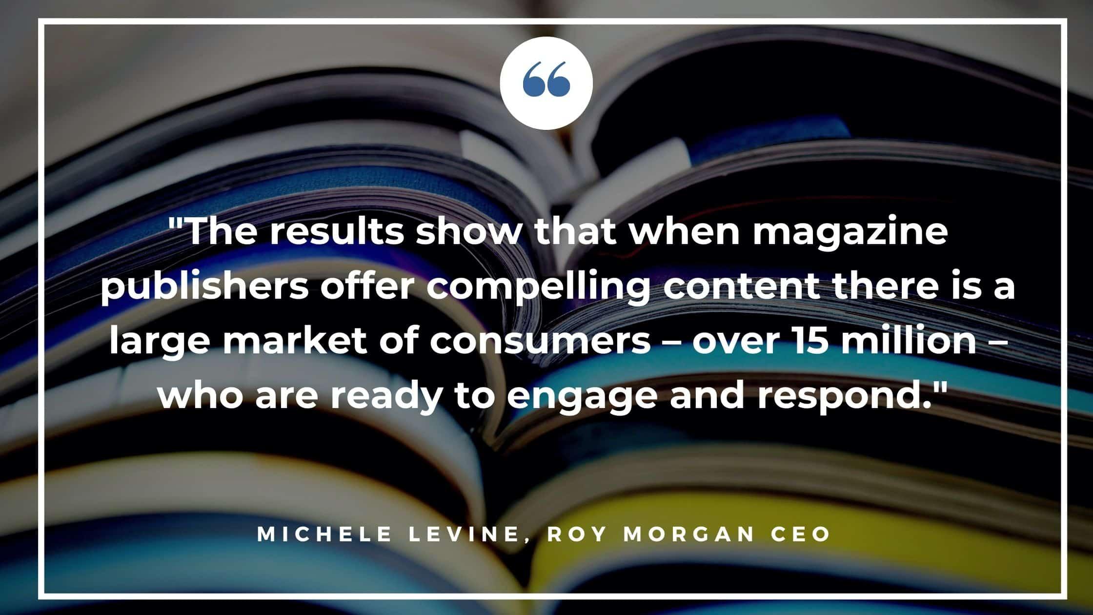 Roy Morgan Readership Report